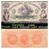 (1830-1860) $50 the citizens bank of Louisiana LA1