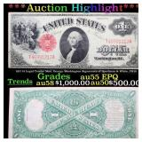 ***Auction Highlight*** 1917 $1 Legal Tender Note,