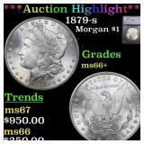 *Highlight* 1879-s Morgan $1 Graded ms66+