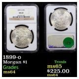 1899-o Morgan $1 Graded ms64