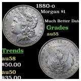 1880-o Morgan $1 Grades Choice AU