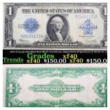 1923 $1 large size Blue Seal Silver Certificate, S