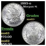 1885-o Morgan $1 Grades Select Unc