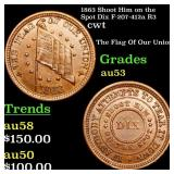 1863 Shoot Him on the Spot Dix F-207-412a R3 cwt G
