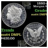 1880-s Morgan $1 Grades Choice Unc DMPL
