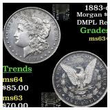 1883-o Morgan $1 Grades Select+ Unc