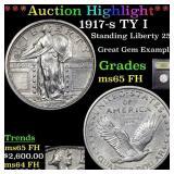 *Highlight* 1917-s TY I Standing Liberty 25c Grade