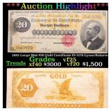 ***Auction Highlight*** 1882 Large Size $20 Gold C