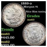 1889-o Morgan $1 Grades Select Unc