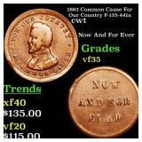 1863 Common Cause For Our Country F-135-441a cwt G