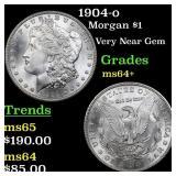 1904-o Morgan $1 Grades Choice+ Unc