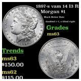 1897-s vam 14 I3 R5 Morgan $1 Grades Select Unc