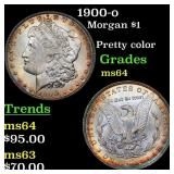 1900-o Morgan $1 Grades Choice Unc