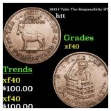1833 I Take The Responsibilty HT-70 htt Grades xf