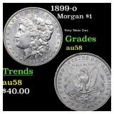 1899-o Morgan $1 Grades Choice AU/BU Slider