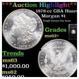 *Highlight* 1878-cc GSA Hoard Morgan $1 Grades Sel