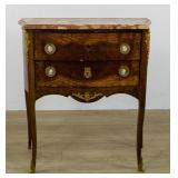 Louis XV Style Marble-Topped Commode