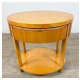 Baker Oval Side Table