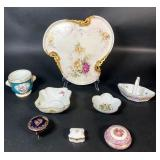 Grouping of Limoges Porcelain