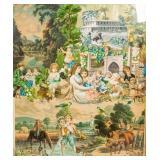Victorian Ephemera Collage