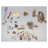 Grouping of Metal, Wood and Stone Items