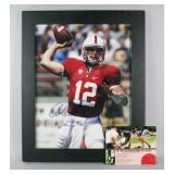Autographed Andrew Luck Stanford Photograph