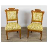 Pair Of East Lake Open Chairs