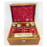 Vanity Box with Silver Accessories