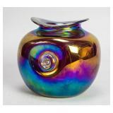 David J Atkinson Glass Bowl 1980