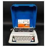1980 Underwood 378 Portable Typewriter