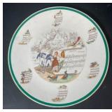 Porcelain Opera Plate