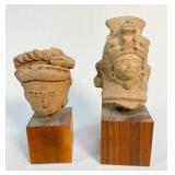 Pre-Columbian Oaxaca Terracotta Urn Fragments
