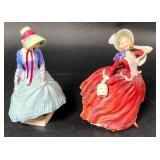 2 Royal Doulton Figurines