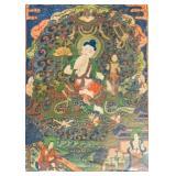 Tibetan Hand Painted Thangka