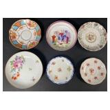 Grouping of Porcelain Saucers and Bowls