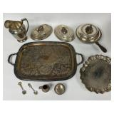 Grouping of Silver Plate Items