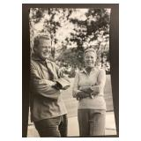 Unframed Photo of Elaine Steinbeck and Friend