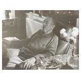 Three of the last photos of John Steinbeck