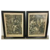 Pair of Prints After Peter Paul Rubens