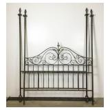 Wrought Iron Four Post Bed