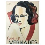 Charles Kiffer Camille Vernades Poster