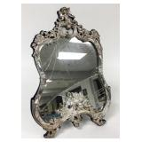 Baroque Style .925 Sterling Mirror