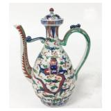 Chinese Wine Pot With Ming Dynasty Marks