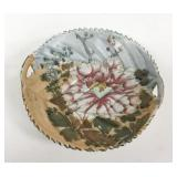 Chinese Porcelain Dish With Lotus Flower
