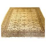 Oriental Carpet with Beige Ground
