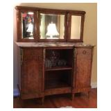 Louis XV Style Marble Top Sideboard
