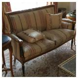 Neoclassical Settee in the French Taste