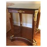 Neoclassical Side Table With Gilt mounts