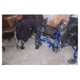 WHEELCHAIR ROLLATORS