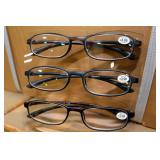 Sun Glass Readers. 2-Pack 2.00 & 1.25 Diopter